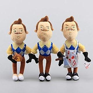 Little Spells 3Pcs/Set The Neighbor Apron Cleaver A-7 Soft Plush Toy(25cm, Muliticolor)