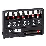 KREATOR KRT064263-8pzs impacto puntas de destorn. pz/hex