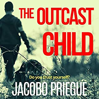 The Outcast Child  audiobook cover art