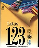 Lotus 123 Spreadsheet for Windows Release 4 (3.5 Inch discs only) (DOS 3.3 or Higher, Windows 3.0)