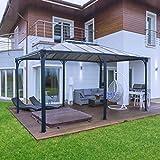 Palram Martinique Pavillon, Grau, 5000