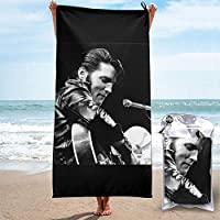 Elvis Presley ビーチタオル バスタオル 速乾性タオル 海水浴 速乾 吸水 軽量 持ち運び便利 旅行用