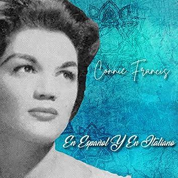 Connie Francis en Español y en Italiano