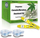 Test antidroga Droga Test Marijuana Cannabis THC Urintest mit Cut-off: 50 ng/ml -15 pezzi (urina)