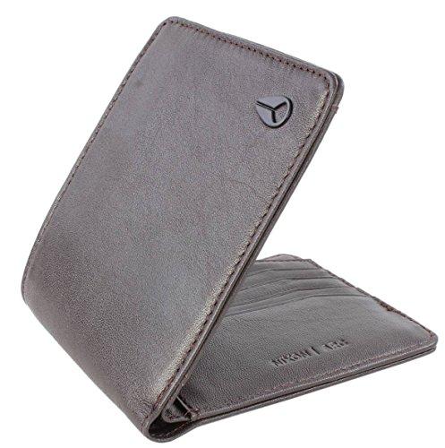 Nixon Arc Bi-Fold Wallet Münzbörse, Braun
