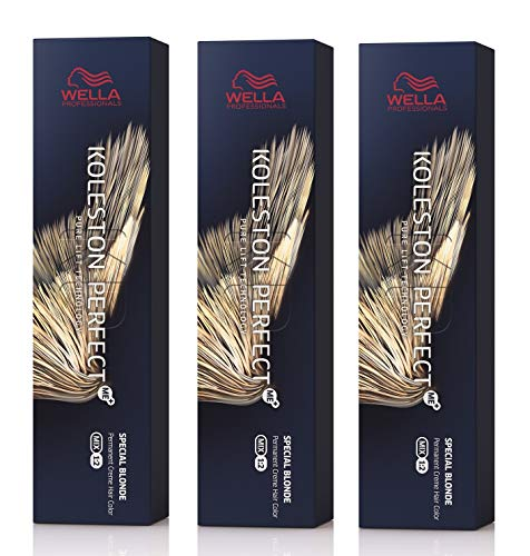 Wella 3 er Pack Koleston Perfect Me+ KP SPECIAL BLONDS 12/81 special blonde perl-asch