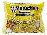 Maruchan Ramen Creamy Chicken - 3 ounce Package (Set of 6)