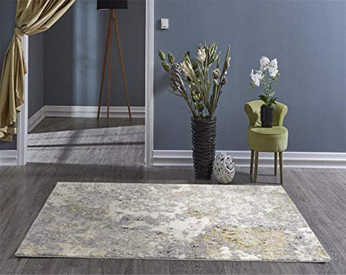 Persian Rugs 6490 Gray 2 x 7 Abstract Modern Area Rug