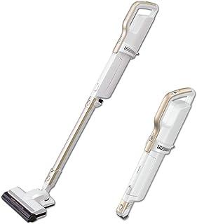 アイリスオーヤマ コードレススティッククリーナー 掃除機 自走式パワーヘッド 軽量 2WAY 紙パック式 シャンパンゴールド IC-SLDCP6