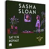 Sängerin Sasha Sloan Royale Boston Album-Cover-Poster auf