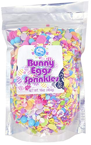 The Gourmet Baking Company Summer Sprinkles –Fancy Sprinkles for Cake Decorating, Colorful Sprinkles for Cupcakes, Confetti Sprinkles, Ice Cream Toppings 1 Pound