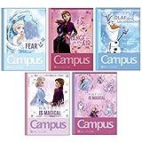 サンスター文具 ディズニー ノート キャンパスノート A罫 アナと雪の女王2 5冊 S2636069