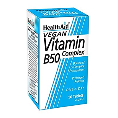 HealthAid Vit B50 Complex - Prolong Release - 30 Tablets by HealthAid