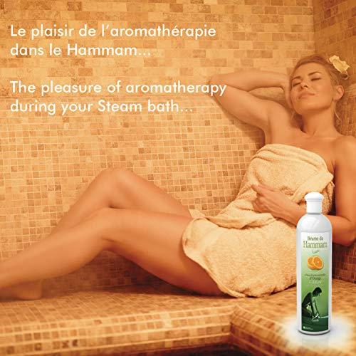 Camylle – Brume de Hammam – Emulsion von Ätherischen Ölen für Dampfbad – Eukalyptus – Atmungsaktiv – 250ml - 3