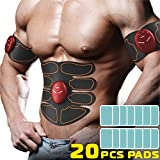 CHOICE REVOLUTION Abs Muscle Toner, Belt- Equipment Workout Abdominal Toner- Red
