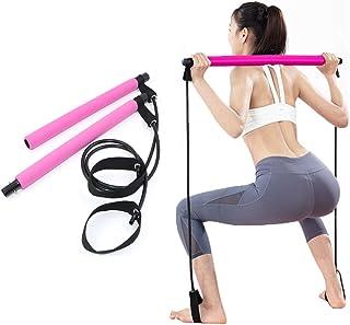 Tinaforld Pilates Bar Kit with Resistance Band