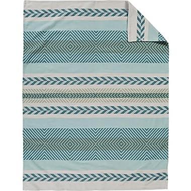 Pendleton Mojave Twill Sky Organic Cotton Throw Blanket, One Size