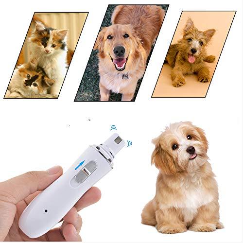 Yshen Pet nagel clipper Usb Opladen Huisdier Nagel Clippers Rustige Elektrische Hond Kat Poten Nagel Grooming Trimmer Gereedschap Kwaliteit Oplaadbaar