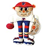 Masks 'N Pals – Pillow People Pros, Crusher Stuffed Plush Pillow Doll with Matching Face Mask Set – Quarterback Doll Toy with Fabric Face Mask for Kids, Breathable, Reusable Fabric – Children Ages 3+