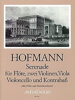 HOFMANN H. - Serenata Op.65 para Flauta, 2 Violines, Viola, Violoncello y Contrabajo (Pauler)