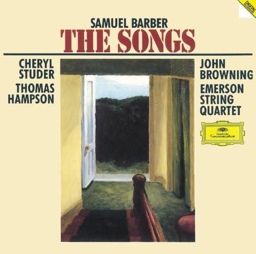 Cheryl Studer, Thomas Hampson, John Browning & Emerson String Quartet