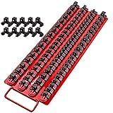 Mechan 80pc Portable Socket Organizer Tray – Premium Quality Socket Tray –...