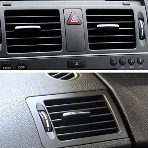 Resistente Front Center Presa dAria Vent Dash Copertura Griglia per Pannello per BMW Serie 5 F10 F18 523 525 535 Pleasant Chirsemey Pannello di Sfiato Aria Condizionata per Auto