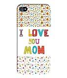 Coverkick Colorful Printed Mom, Mother, Mom & Dad, Best Mom Designer Back Case