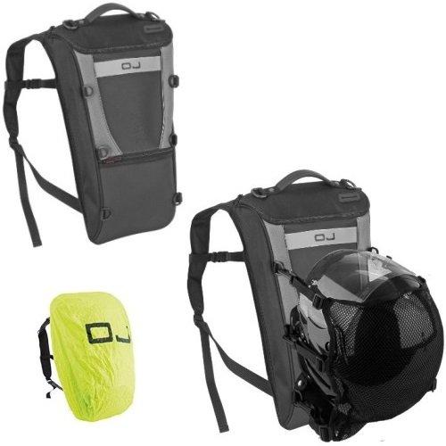 Sporttas voor skihelm OJ KYTE M052 zwart binnenzakken afmetingen: 31 x 50 x 8-18 cm volume: 12-25 L