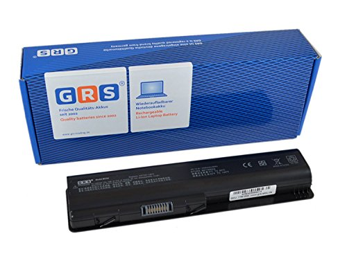 GRS Batterie pour HP Pavilion dv4 dv5 dv6 COMPAQ Presario CQ40 CQ70 remplacé: 484170-001 HSTNN-UB72 HSTNN-CB72 484171-001 HSTNN-LB72 485041-003 462890-541 KS524AA 485041-001