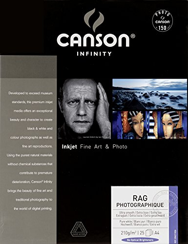 Canson Infinity Rag Photographique 210 - Papel fotográfico