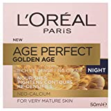 L'Oréal Paris Golden Age Rich Re-Densifying Night Cream for Mature Skin, with Neo-Calcium