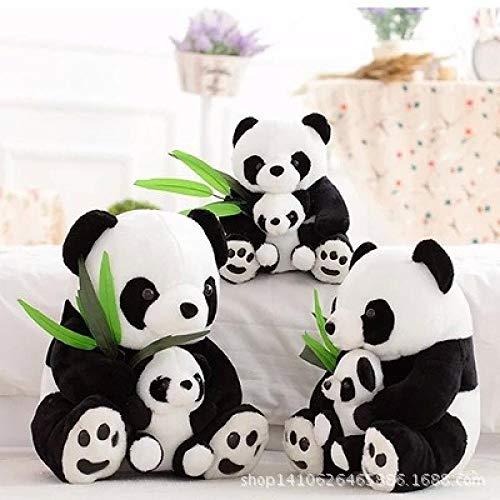 YRCBQJBE Panda muñeca Peluche Juguete Panda muñeca muñeca Kung fu Panda Día de los niños (Color : Mother and Son Panda, Size : 22 cm)