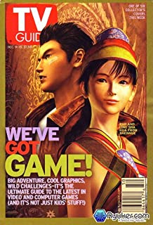TV Guide December 9-15, 2000 (1 of 6 covers) (Ryo and Ling Sha Hua from Shenmue: We've Got Game! Big Adventures, Cool Graphics, and Wild Challenges; Pop O' The Mornin': Al Roker, Today's Sunny Weatherman, Revels In Baby Love; Marin Hinkle Heats Up 'Once and Again' as Sela Ward's Sexy Younger Sib, Volume 48, No. 50, Issue #2489)
