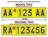 Aufkleber mit Buchstaben für Caravan-Kennzeichen / Kfz-Kennzeichen