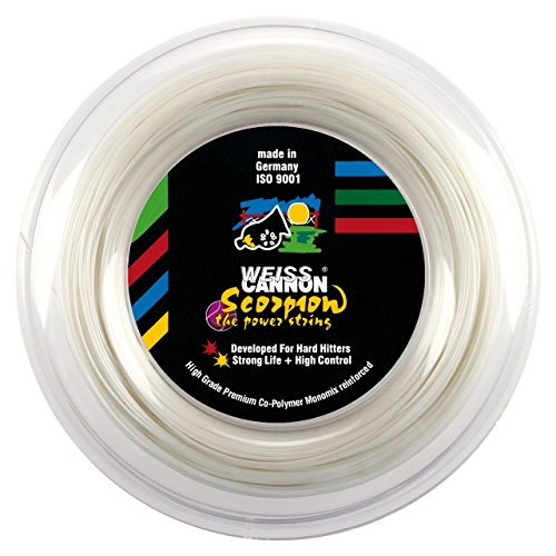 1.23mm // 17G Weiss CANNON Ultra Cable Tennis String 12m Yellow
