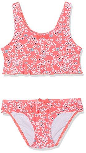 Sanetta Mädchen Bikini Badebekleidungsset, Rot (Grenadine 3701), 116