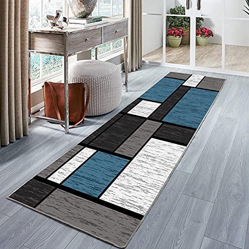 Tappeto corridoio Moderno Passatoia corridoio, Durevole Superficie Morbida Adatto per Cucina e Bagno 40x180cm