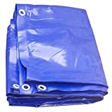 Akuoly Lona Impermeable Exterior 2m x 3m Lona de protección para Muebles de jardín, Piscina, Coche, 350g /m² Lona de protección Impermeable y Resistente