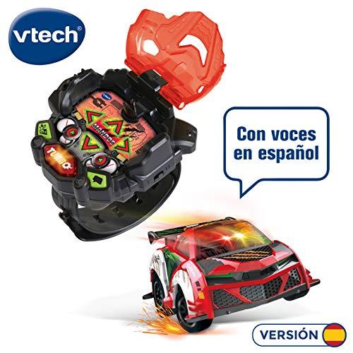 VTech Turbo Force Racers Auto-Fernbedienung, mit Fernbedienung, für Handgelenk, 6 Richtungen und Turbo-Modus