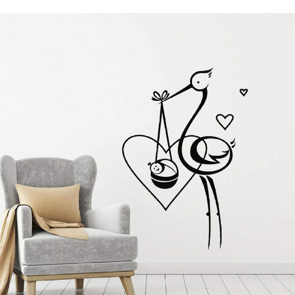 Dwqlx Bird Stork Baby Love Wall Stickers Buy Online In Aruba At Desertcart