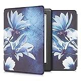 kwmobile Carcasa Compatible con Kobo GLO HD/Touch 2.0 - Funda para Libro electrónico con Solapa - Magnolia
