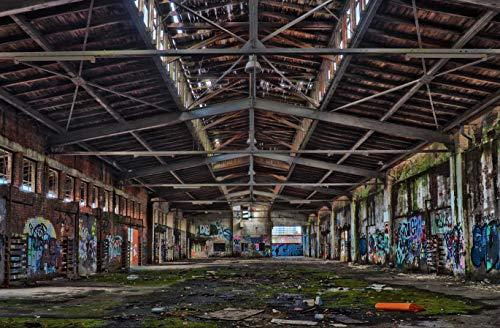 hansepuzzle 69298 Gebäude - alte Lagerhalle, 500 Teile in hochwertiger Kartonbox, Puzzle-Teile in wiederverschliessbarem Beutel.