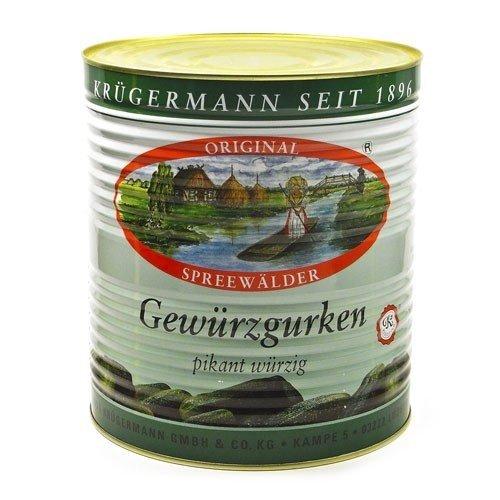 Krügermanns Original Spreewälder Gewürzgurken (10 l Dose)
