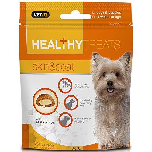 VetIQ Treat Skin and Coat for Healthy Dog, 70 g