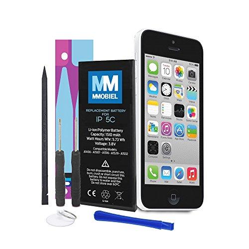MMOBIEL Batería Compatible con iPhone 5C Li-Ion 3,8v 1510 m