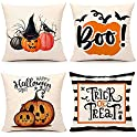 4-Pack Ravolazer Soft Decorative Square Throw Pillow Covers Set