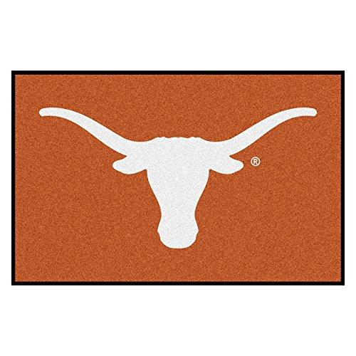 FANMATS 3175 NCAA University of Texas Longhorns Nylon Face Starter Rug 19