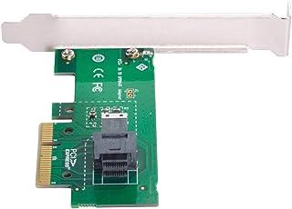 محول SSD من Cablecc PCI-E 4X إلى U2 U2 SFF-8639 NVME PCIe لللوحة الرئيسية SSD 750 p3600 p3700 M.2 SFF-8643