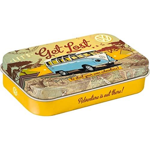Nostalgic-Art VW Bulli - Let\'s Get Lost, Pillendose XL, 1er Pack (1 x 40 g)